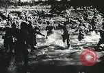 Image of Allied troops training for D-day invasion Devon England, 1944, second 8 stock footage video 65675060094