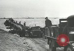 Image of Mulberry port facilities employed in Normandy invasion Cherbourg Normandy France, 1944, second 3 stock footage video 65675060100