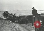 Image of Mulberry port facilities employed in Normandy invasion Cherbourg Normandy France, 1944, second 4 stock footage video 65675060100