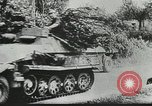Image of U.S. and German forces converge in battle after Normandy invasion Mortain France, 1944, second 12 stock footage video 65675060104