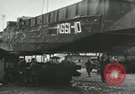 Image of 9th Armored Division crossing Rhine in World War 2 Remagen Germany, 1945, second 4 stock footage video 65675060114