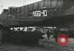 Image of 9th Armored Division crossing Rhine in World War 2 Remagen Germany, 1945, second 5 stock footage video 65675060114