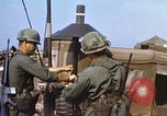 Image of 3rd Brigade 82nd Airborne Division soldiers Phu Bai Hue Vietnam, 1968, second 3 stock footage video 65675060120