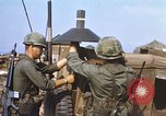 Image of 3rd Brigade 82nd Airborne Division soldiers Phu Bai Hue Vietnam, 1968, second 5 stock footage video 65675060120
