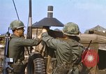 Image of 3rd Brigade 82nd Airborne Division soldiers Phu Bai Hue Vietnam, 1968, second 10 stock footage video 65675060120