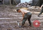 Image of 3rd Brigade 82nd Airborne Division soldiers Phu Bai Hue Vietnam, 1968, second 11 stock footage video 65675060124
