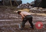 Image of 3rd Brigade 82nd Airborne Division soldiers Phu Bai Hue Vietnam, 1968, second 12 stock footage video 65675060124