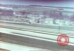 Image of strafing parked aircraft Germany, 1945, second 8 stock footage video 65675060140