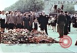 Image of Tomb of Unknown Soldier Paris France, 1945, second 11 stock footage video 65675060143