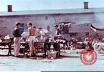Image of Former American airmen prisoners of war at Stalag 7A prison camp Moosburg Germany, 1945, second 1 stock footage video 65675060146