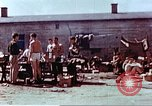 Image of Former American airmen prisoners of war at Stalag 7A prison camp Moosburg Germany, 1945, second 7 stock footage video 65675060146