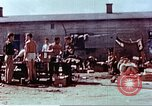 Image of Former American airmen prisoners of war at Stalag 7A prison camp Moosburg Germany, 1945, second 8 stock footage video 65675060146