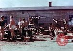 Image of Former American airmen prisoners of war at Stalag 7A prison camp Moosburg Germany, 1945, second 9 stock footage video 65675060146