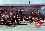 Image of Former American airmen prisoners of war at Stalag 7A prison camp Moosburg Germany, 1945, second 10 stock footage video 65675060146