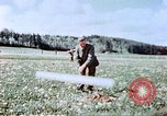 Image of German prisoners of war building a barbed wire enclosure Germany, 1945, second 5 stock footage video 65675060149