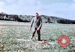 Image of German prisoners of war building a barbed wire enclosure Germany, 1945, second 6 stock footage video 65675060149