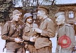 Image of woman soldier of Red Army Torgau Germany, 1945, second 12 stock footage video 65675060151