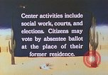Image of Japanese-American citizens United States USA, 1942, second 6 stock footage video 65675060162