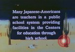 Image of Japanese-American citizens United States USA, 1942, second 1 stock footage video 65675060164