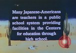 Image of Japanese-American citizens United States USA, 1942, second 3 stock footage video 65675060164