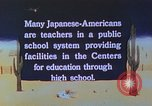 Image of Japanese-American citizens United States USA, 1942, second 10 stock footage video 65675060164