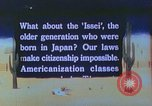 Image of Japanese-American citizens United States USA, 1942, second 1 stock footage video 65675060165