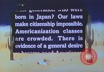 Image of Japanese-American citizens United States USA, 1942, second 9 stock footage video 65675060165