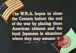 Image of Efforts to find employment and resettle Japanese-Americans in WW II California United States USA, 1943, second 6 stock footage video 65675060174