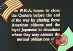 Image of Efforts to find employment and resettle Japanese-Americans in WW II California United States USA, 1943, second 8 stock footage video 65675060174