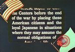 Image of Efforts to find employment and resettle Japanese-Americans in WW II California United States USA, 1943, second 10 stock footage video 65675060174