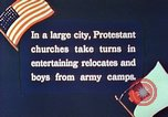 Image of Churches sponsor social activities for Japanese-American soldiers in W United States USA, 1943, second 2 stock footage video 65675060177