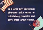 Image of Churches sponsor social activities for Japanese-American soldiers in W United States USA, 1943, second 8 stock footage video 65675060177