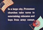 Image of Churches sponsor social activities for Japanese-American soldiers in W United States USA, 1943, second 9 stock footage video 65675060177