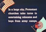 Image of Churches sponsor social activities for Japanese-American soldiers in W United States USA, 1943, second 12 stock footage video 65675060177