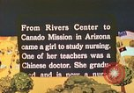Image of Japanese-American nurses Ganado Arizona USA, 1944, second 7 stock footage video 65675060178