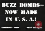 Image of United States buzz bombs Dearborn Michigan USA, 1945, second 7 stock footage video 65675060199