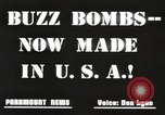 Image of United States buzz bombs Dearborn Michigan USA, 1945, second 8 stock footage video 65675060199