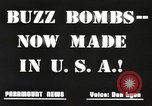 Image of United States buzz bombs Dearborn Michigan USA, 1945, second 10 stock footage video 65675060199