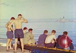 Image of HMAS Melbourne R-21 South China Sea, 1969, second 9 stock footage video 65675060209