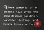 Image of congested houses Ponce Puerto Rico, 1931, second 5 stock footage video 65675060224