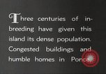 Image of congested houses Ponce Puerto Rico, 1931, second 8 stock footage video 65675060224