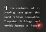 Image of congested houses Ponce Puerto Rico, 1931, second 9 stock footage video 65675060224