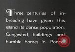 Image of congested houses Ponce Puerto Rico, 1931, second 10 stock footage video 65675060224