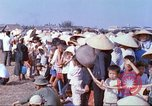 Image of Vietnamese villagers Tan Tru Vietnam, 1967, second 12 stock footage video 65675060271