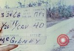 Image of 1st Infantry Division soldiers Vietnam, 1968, second 3 stock footage video 65675060283