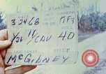Image of 1st Infantry Division soldiers Vietnam, 1968, second 4 stock footage video 65675060283