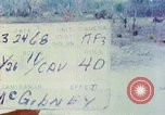 Image of 1st Infantry Division soldiers Vietnam, 1968, second 11 stock footage video 65675060283