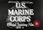 Image of Marine Corps Pacific Theater, 1944, second 8 stock footage video 65675060320