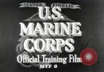 Image of Marine Corps Pacific Theater, 1944, second 9 stock footage video 65675060320