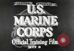 Image of Marine Corps Pacific Theater, 1944, second 10 stock footage video 65675060320